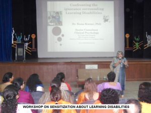 WKSP ON LEARNING DISABILITIES